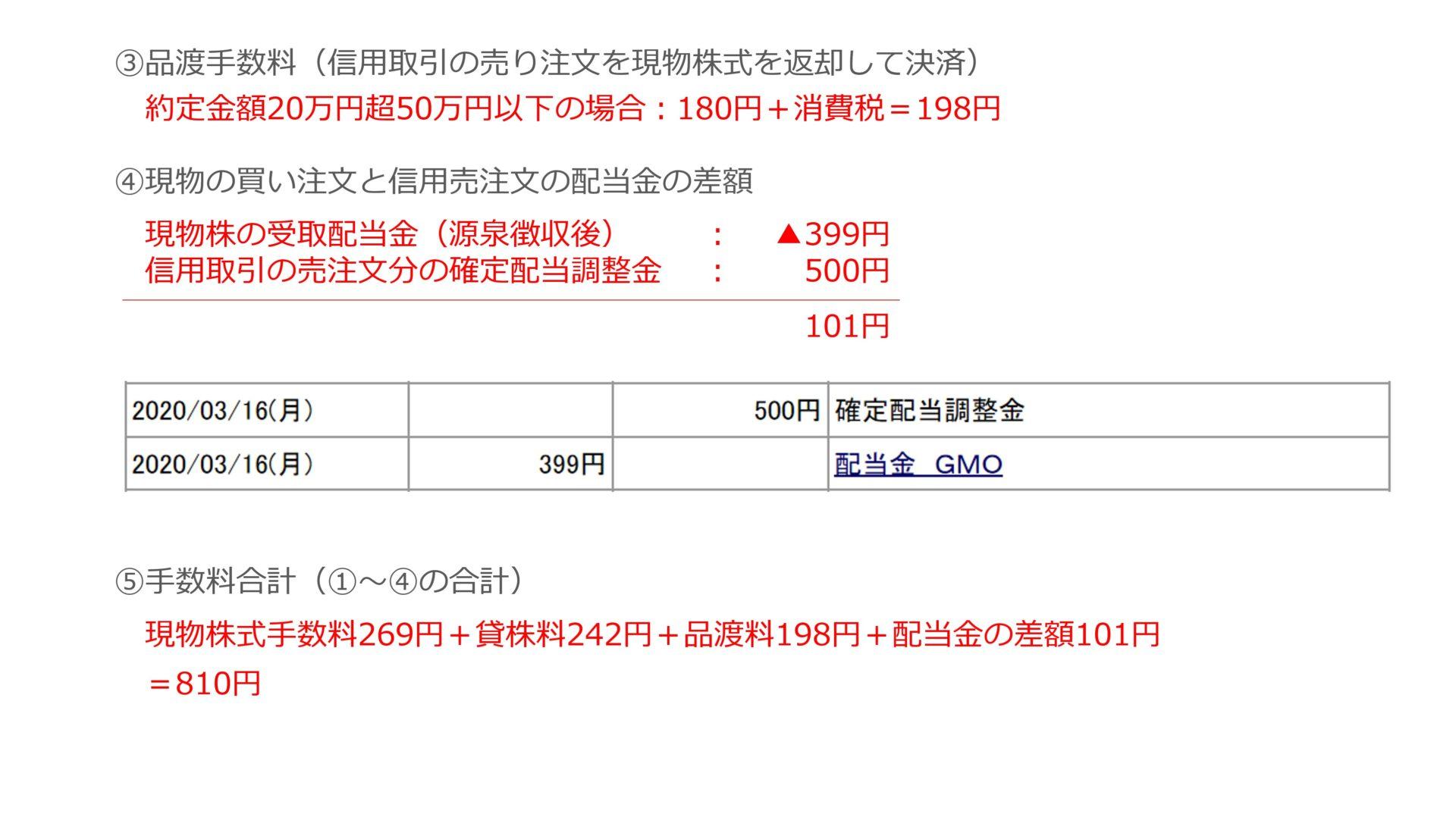 GMOインターネット 株主優待 クロス取引